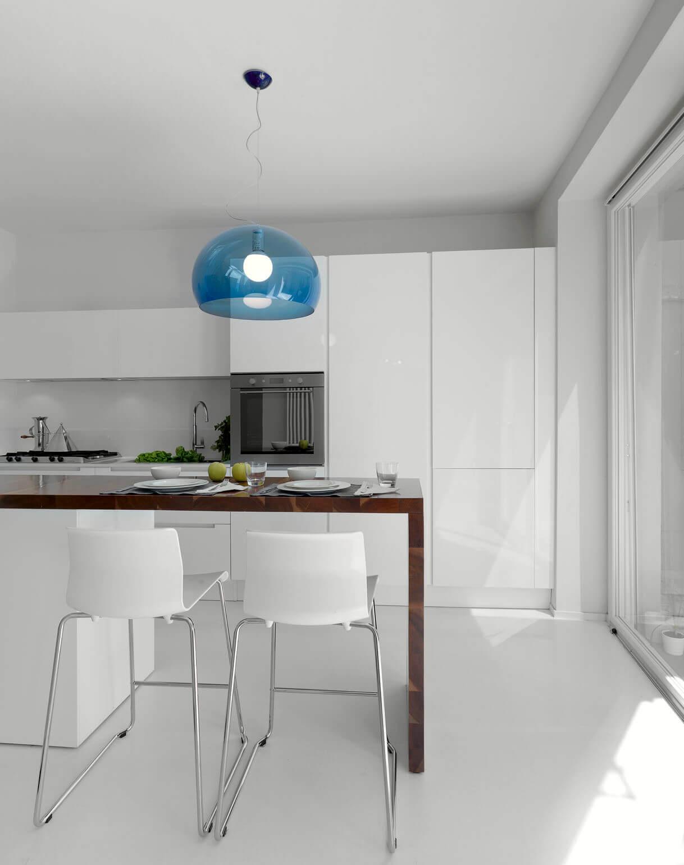 Dworkowa.pl - wizualizacja wnętrza kuchni
